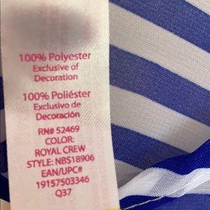 No Boundaries Swim - No Boundaries Chiffon tie stripe coverup -NWT